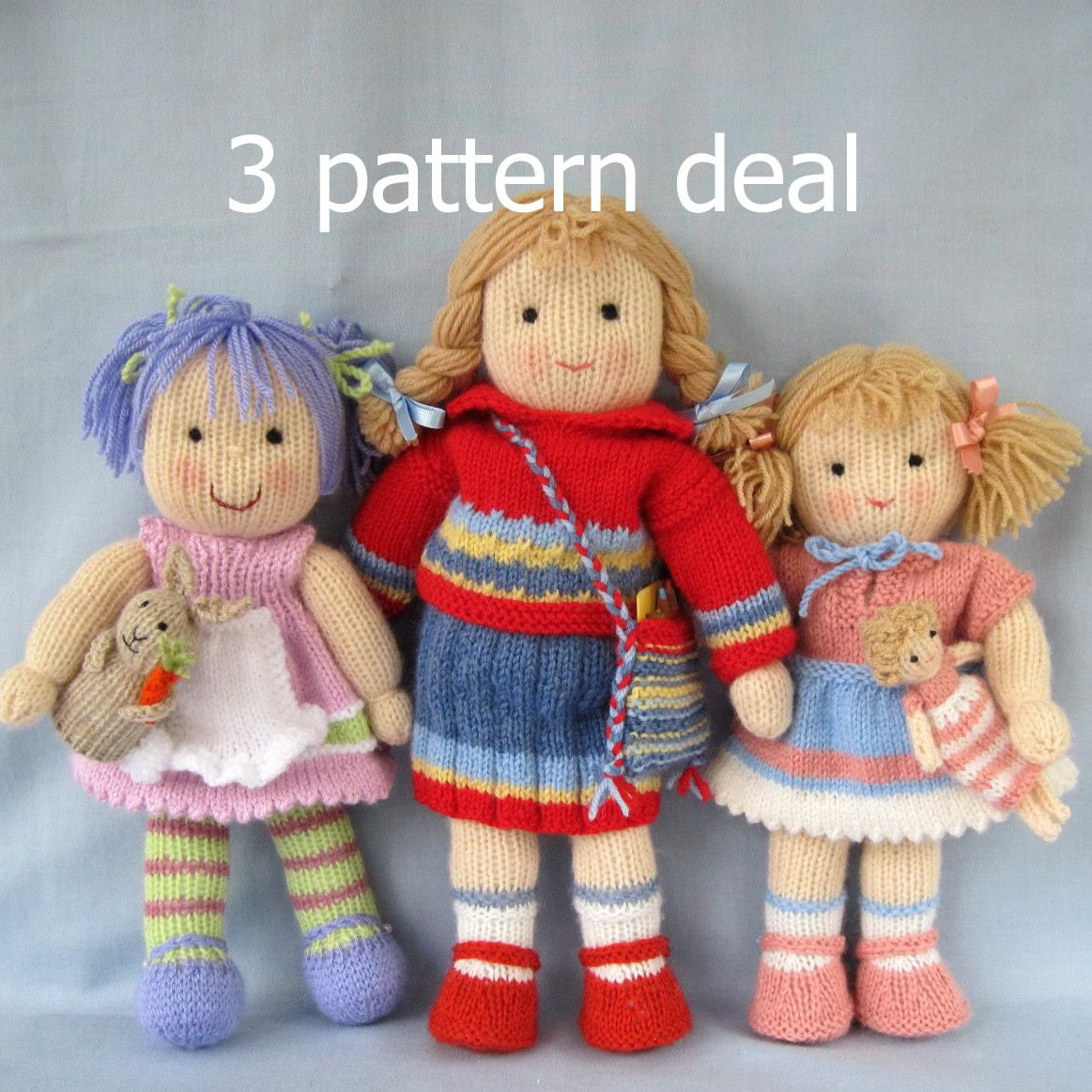Awesome Jack and Jill Doll Knitting Patterns Knitted Baby Knitted Doll Patterns Of Lovely 40 Models Knitted Doll Patterns