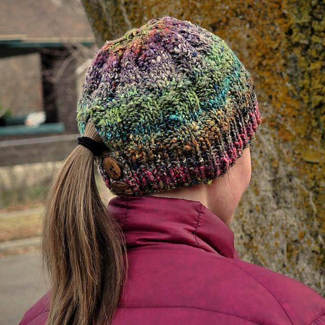 Awesome Japanese Dream Hat by Laurendahl Free Knitting Pattern for Ponytail Hat Of Delightful 43 Models Free Knitting Pattern for Ponytail Hat