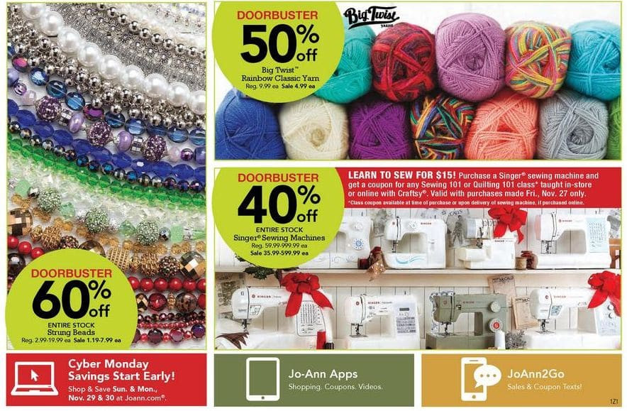Awesome Joann Fabrics Black Friday Ad 2015 Black Friday Yarn Sale Of Perfect 43 Pictures Black Friday Yarn Sale