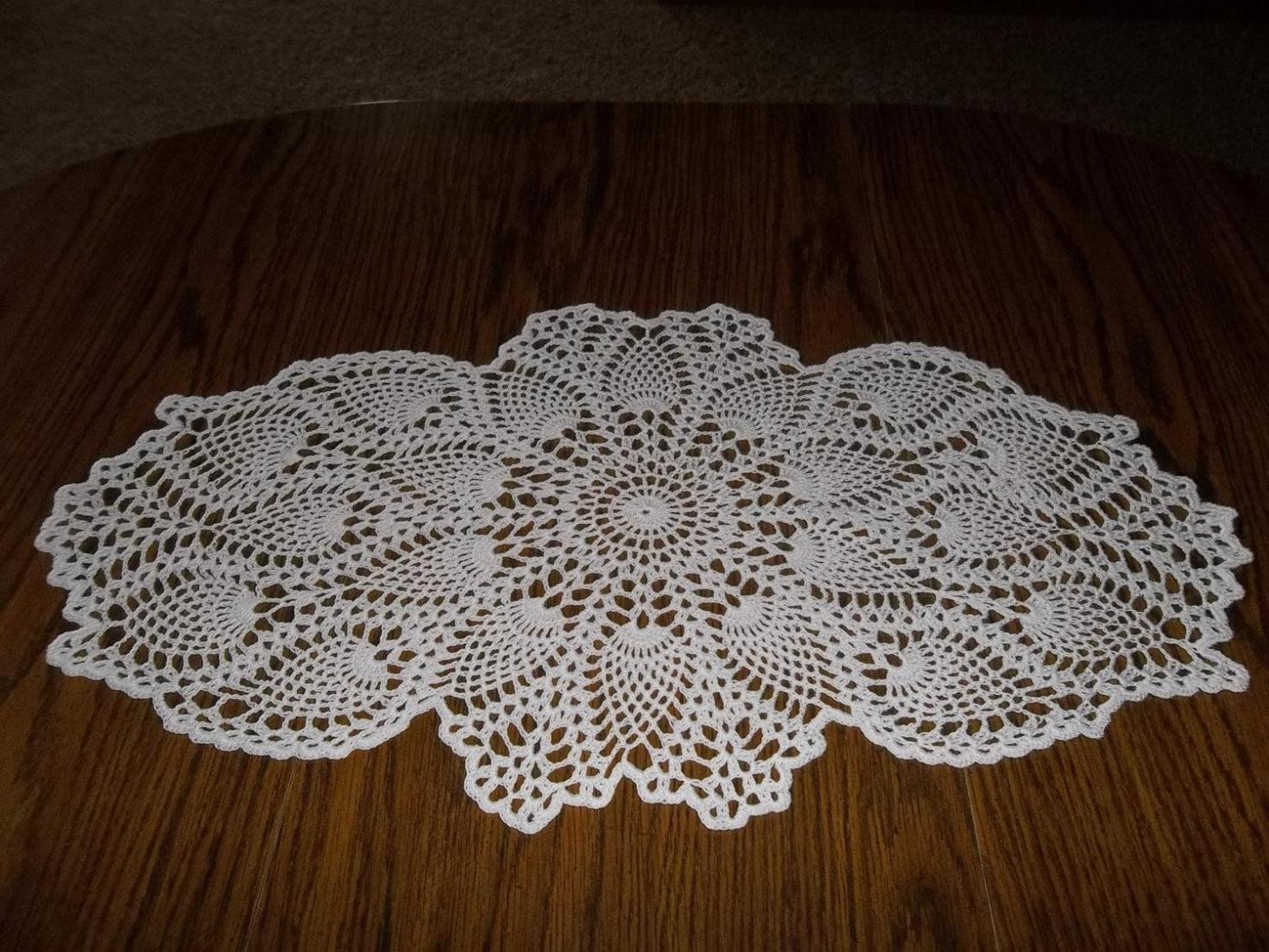 Awesome Just for You 17 Crochet Table Runner Patterns for Crochet Table Runner Of Amazing 46 Images Crochet Table Runner