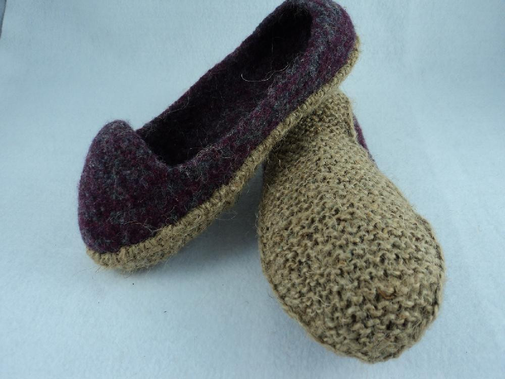 Awesome Jute sole Knitting Pattern for All Moniquerae Slipper Designs Slipper soles for Knitting Of Superb 40 Images Slipper soles for Knitting