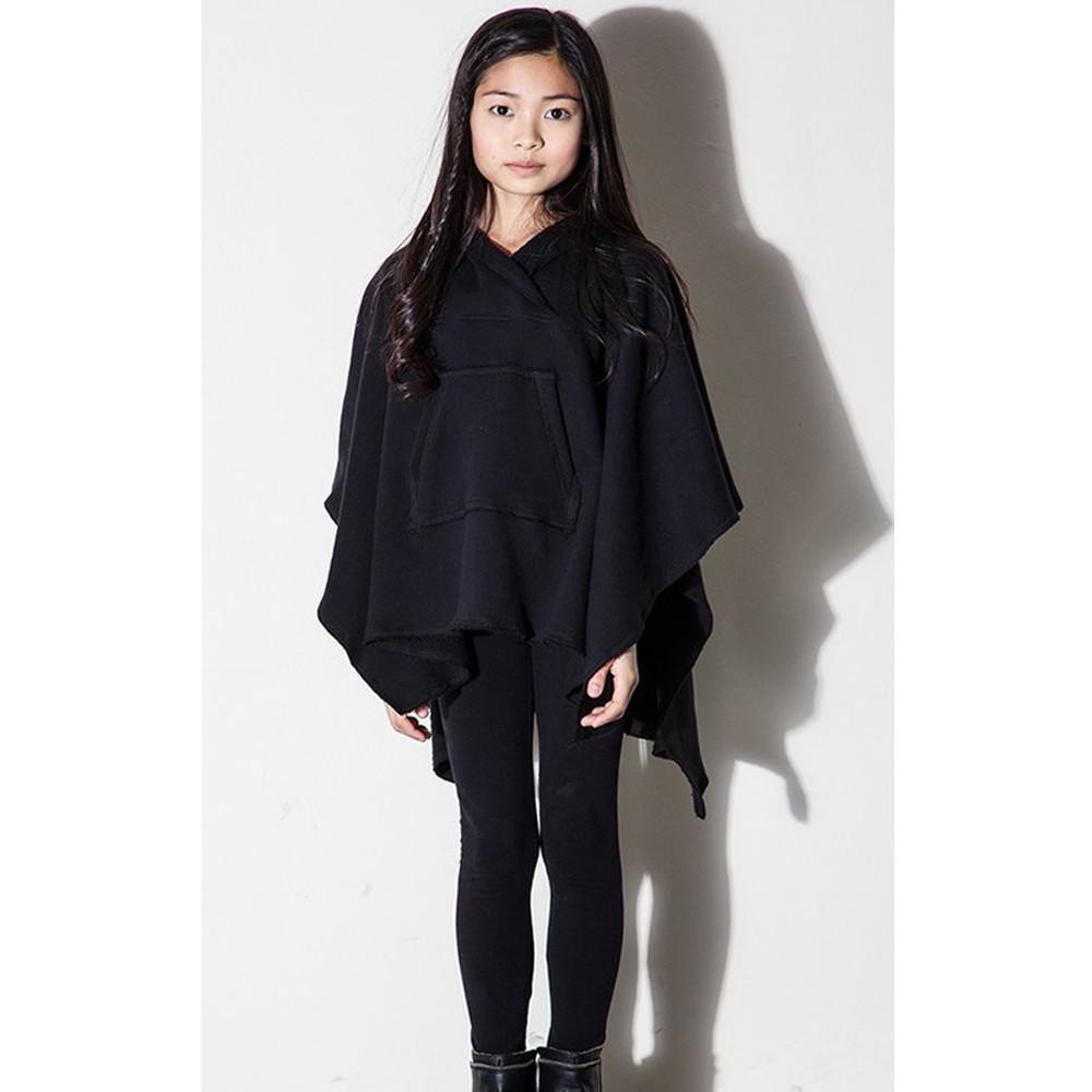 Awesome Kids Black Cool Trendy Fleece Poncho – Mimobee Cool Ponchos Of Luxury 46 Pics Cool Ponchos