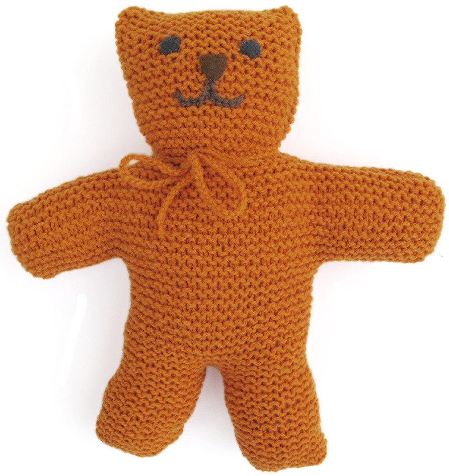 KidsKnit Teddy Bear PDF Pattern Morehouse Farm