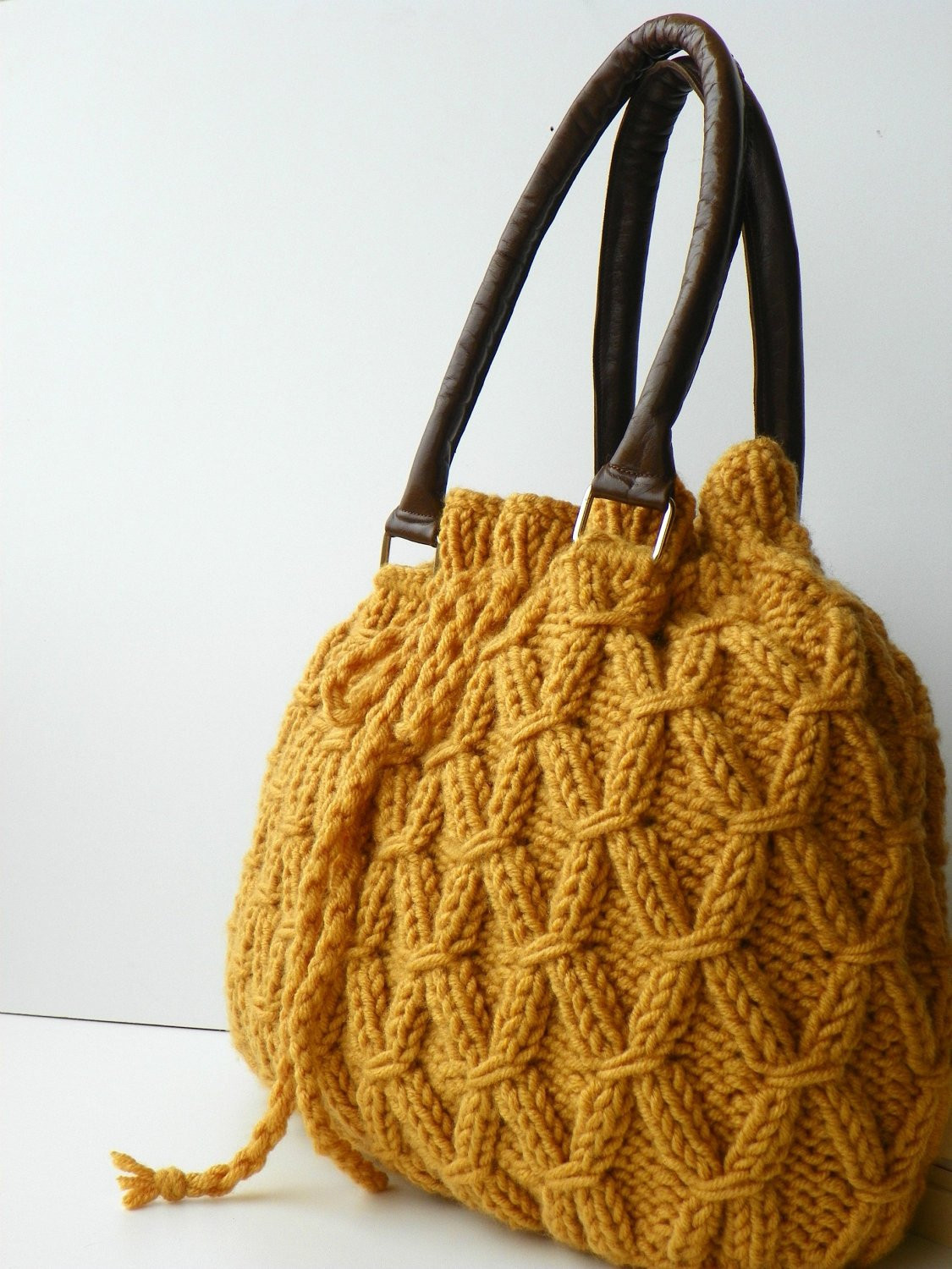 Awesome Knit Bag Fall Fashion Shoulder and Handbag Nzlbags Mustard Knitted Purse Of Amazing 41 Pics Knitted Purse