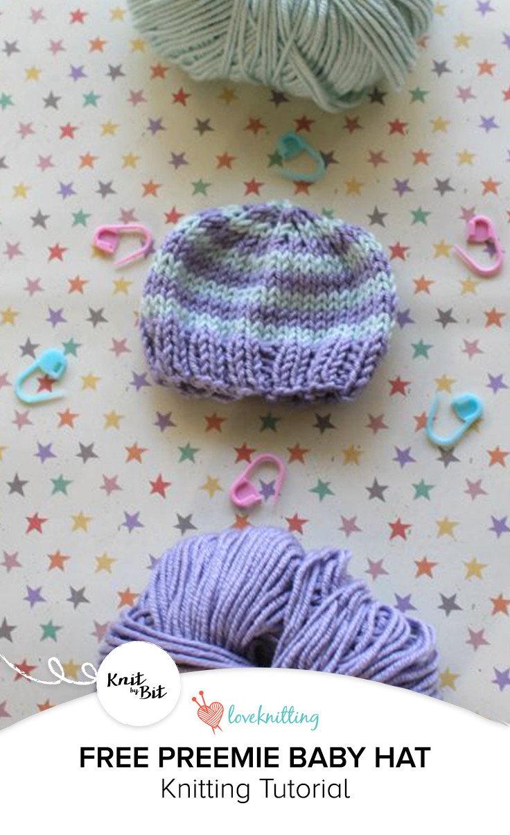 Awesome Knit by Bit the Perfect Preemie Baby Hat • Loveknitting Blog Preemie Baby Hats Of Amazing 47 Models Preemie Baby Hats