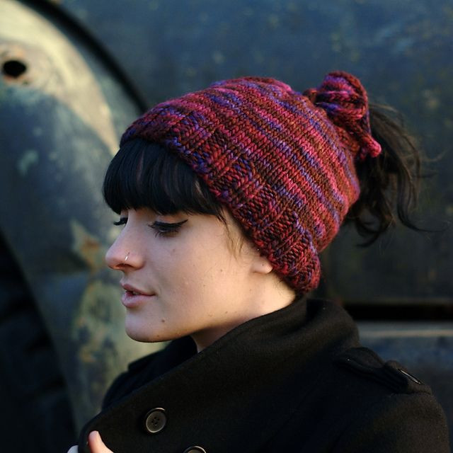 Awesome Knit Hat with Ponytail Hole Beanie with Hole for Bun Of Great 40 Pics Beanie with Hole for Bun