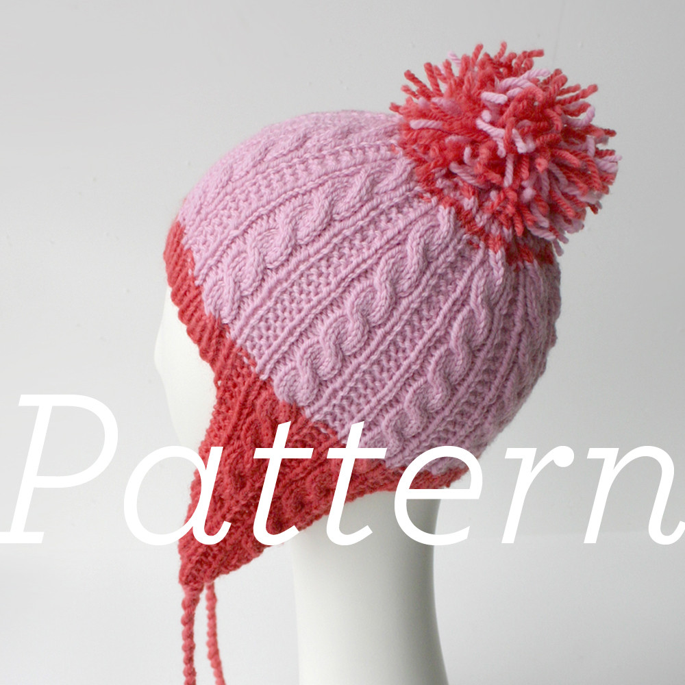 Awesome Knit Pattern Gingerbread Icing Ear Flap Hat Earflap Hat Knitting Pattern Of Gorgeous 41 Models Earflap Hat Knitting Pattern