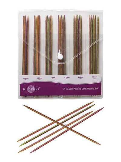 "Awesome Knit Picks Harmony Wood 5"" Double Pointed Needle Set at Knitting Needle Sets Of Superb 42 Pictures Knitting Needle Sets"