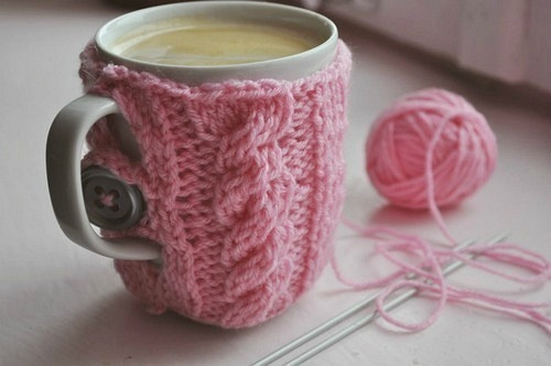 Awesome Knitted Mug Cozies Knitting is Awesome Knitted Mug Cozy Of Unique 48 Photos Knitted Mug Cozy