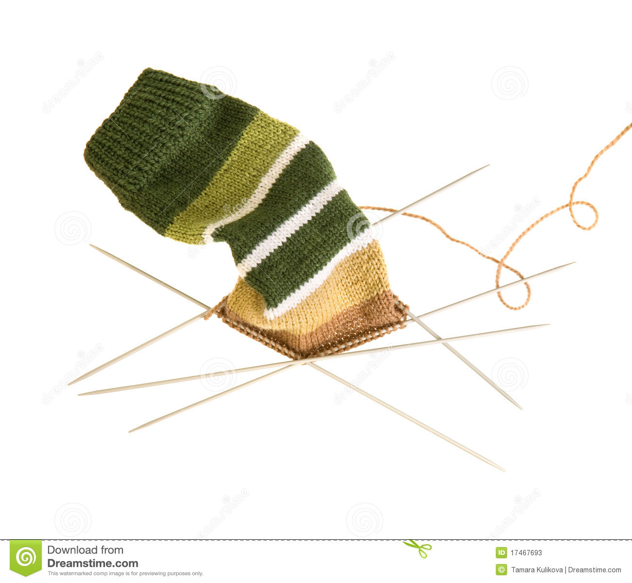 Awesome Knitting A Striped sock Five Needles Stock S sock Knitting Needles Of Wonderful 44 Photos sock Knitting Needles