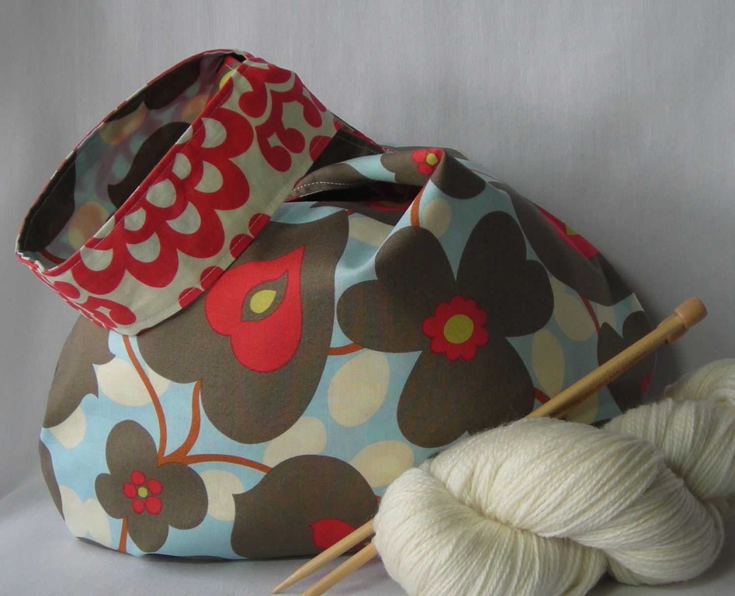 Awesome Knitting Crochet Project Bag Japanese Knot Bag Shawl sock Project Bag Pattern Of Incredible 47 Models Project Bag Pattern