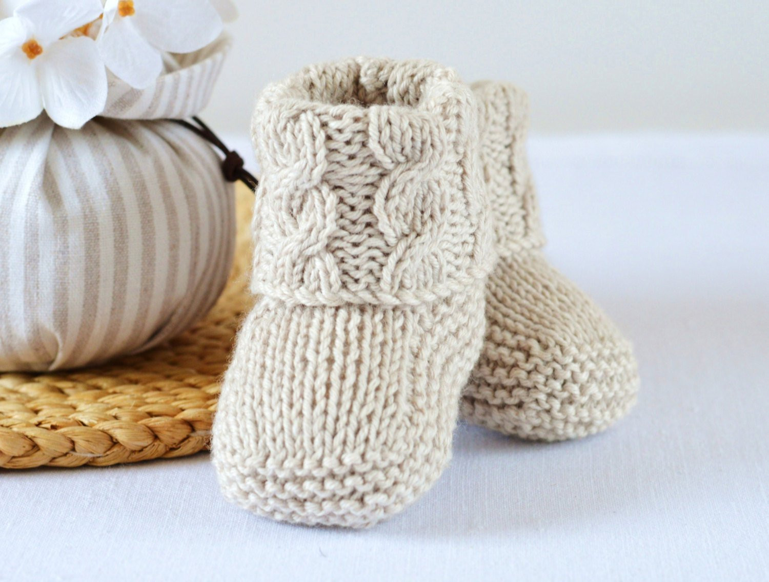 Awesome Knitting Pattern Baby Booties Cable Aran Baby by Baby Booties Knitting Pattern Of Awesome 47 Pics Baby Booties Knitting Pattern