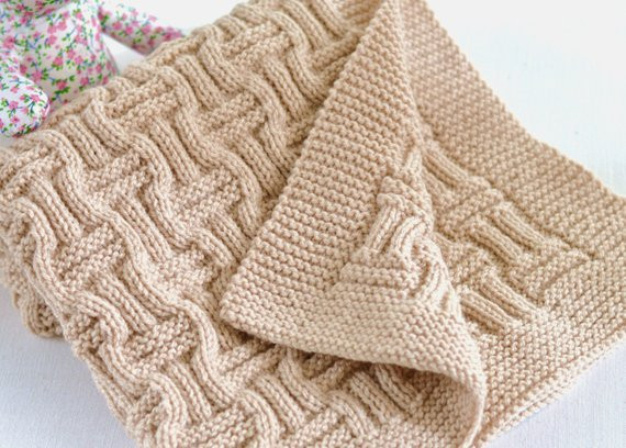 Awesome Knitting Pattern Beginner Knit Baby Blanket In Double Baby Blanket Knitting Pattern for Beginners Of Brilliant 49 Ideas Baby Blanket Knitting Pattern for Beginners