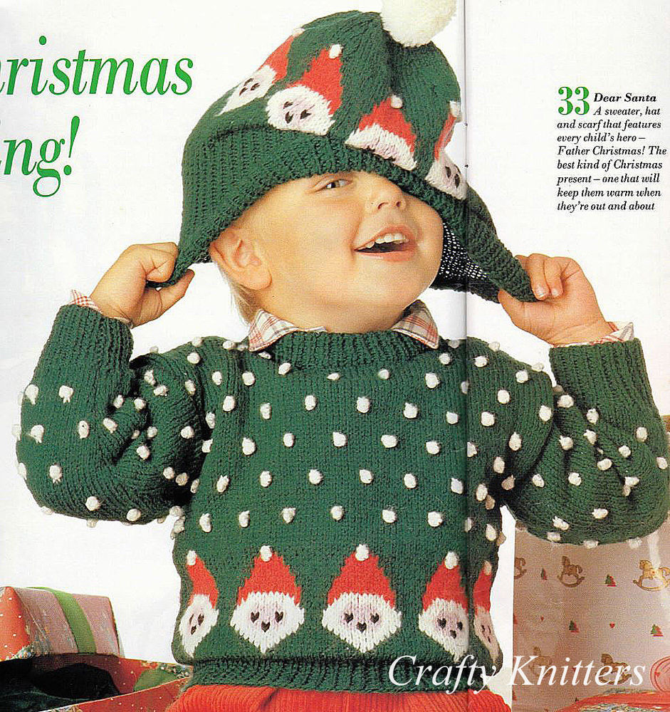 Awesome Knitting Pattern Children S Christmas Jumper & Hat Children's Scarves Of New 48 Pictures Children's Scarves
