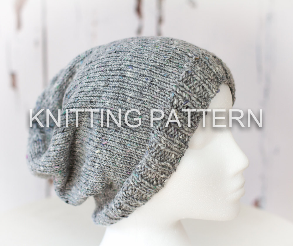 Awesome Knitting Pattern Diy Instructions Slouch Beanie Hat Adult Hat Knitting Pattern Of Awesome 47 Images Adult Hat Knitting Pattern