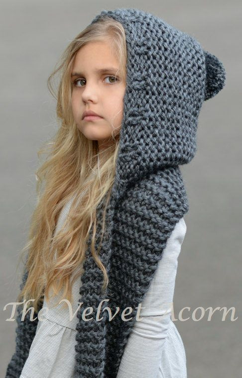 Awesome Knitting Pattern for Adult and Child Sized Hooded Scarf Child Scarf Knit Pattern Of Top 42 Photos Child Scarf Knit Pattern