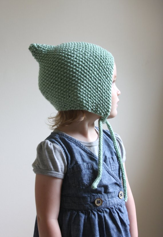 Awesome Knitting Pattern Pdf File Knit Pixie Bonnet Pattern Baby Knitted Baby Bonnet Of Top 47 Pics Knitted Baby Bonnet