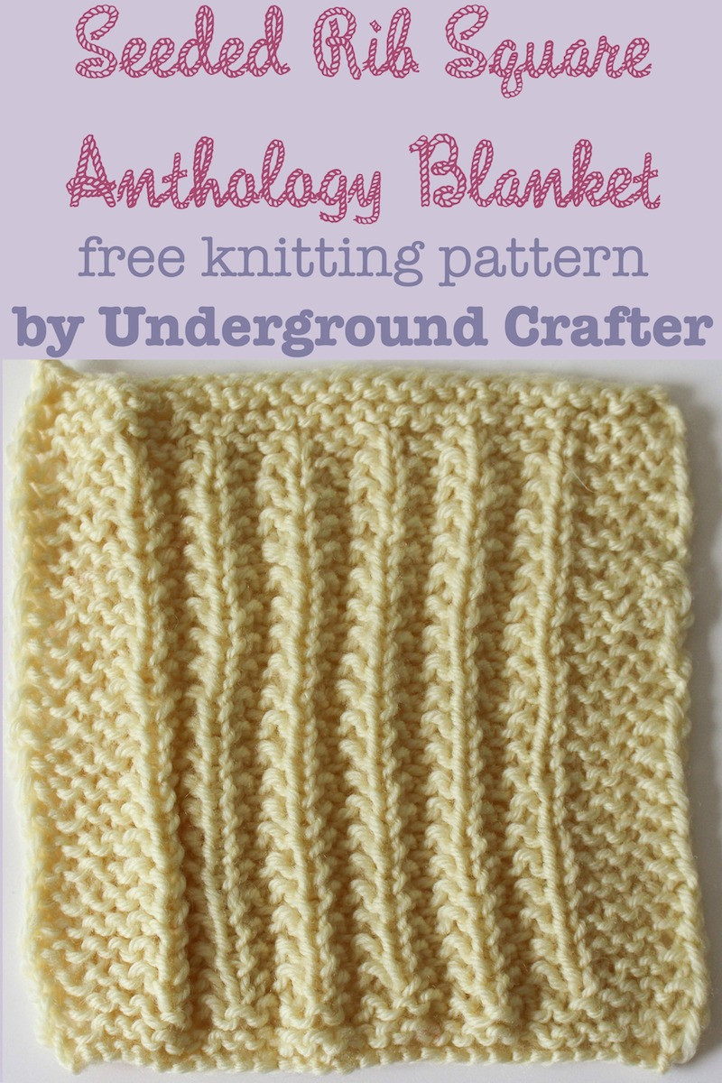 Awesome Knitting Pattern Seeded Rib Square Knitted Square Patterns Of Lovely 50 Models Knitted Square Patterns