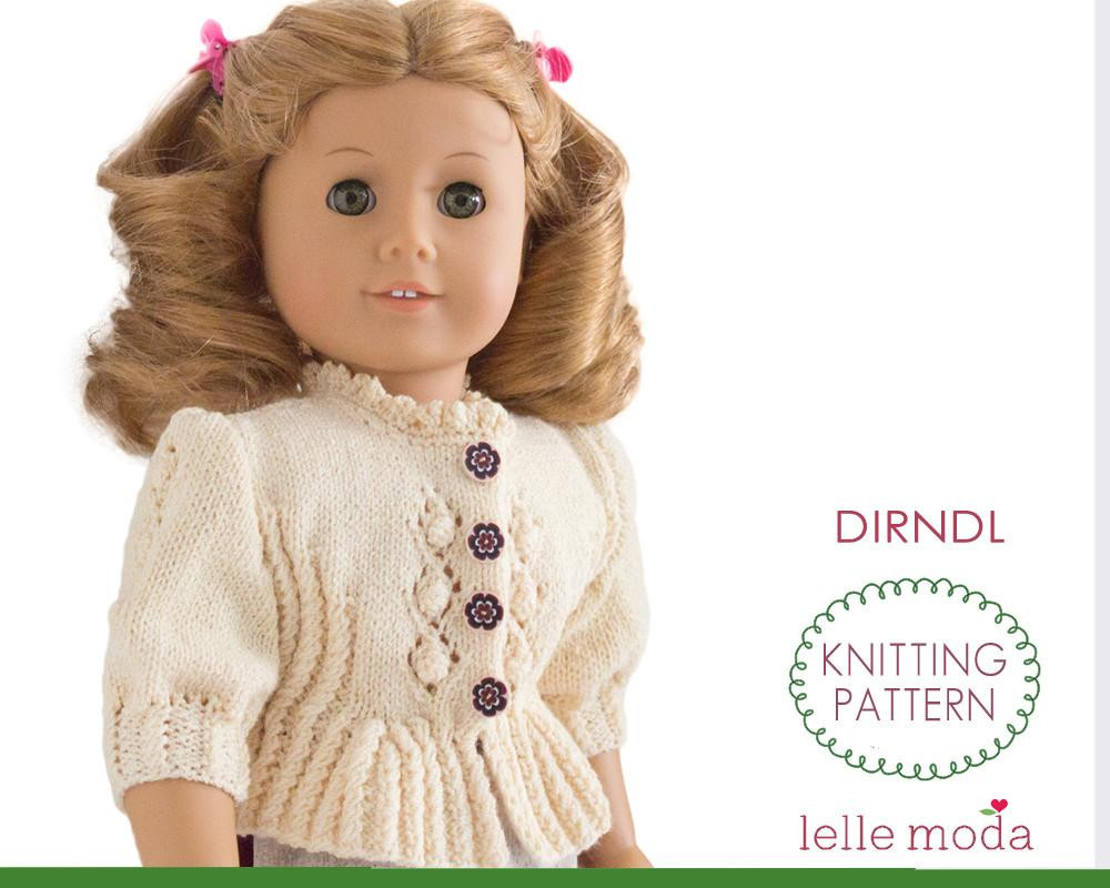 Awesome Knitting Patterns for Doll Clothes American Girl Patterns Of Unique 42 Models American Girl Patterns