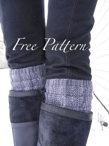 Kriskrafter Free Knit Pattern 2 Needle Boot Toppers Cuffs