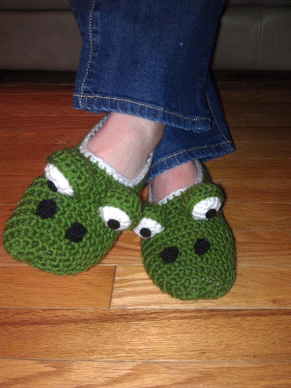 Awesome La S Monster Slippers by Suzi44 Craftsy Crochet Monster Slippers Of New 37 Models Crochet Monster Slippers