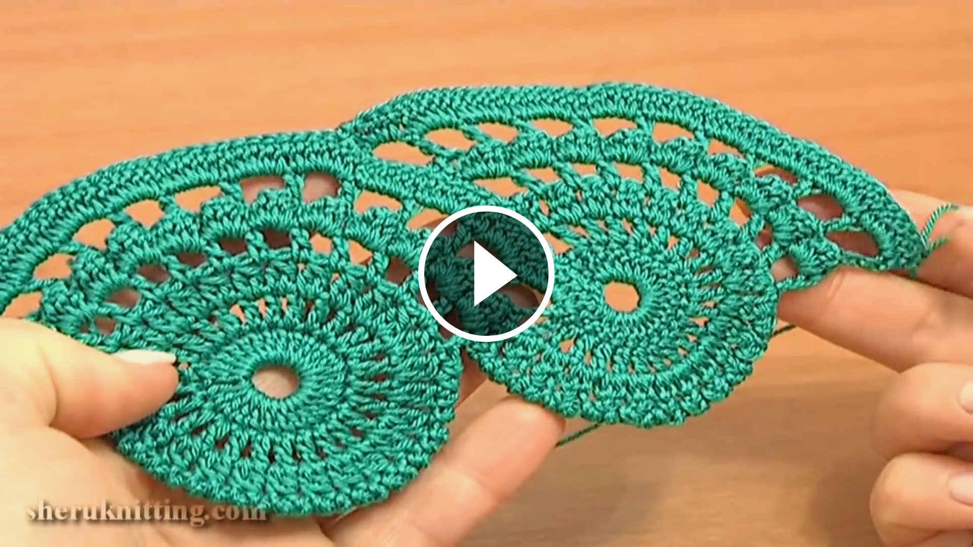 Lace Crochet Free Pattern And Tutorial