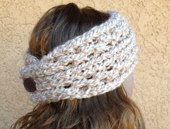 Awesome Lace Ribbed Ear Warmer A Loom Knit Pattern Knit Ear Warmer Pattern Of Great 46 Photos Knit Ear Warmer Pattern