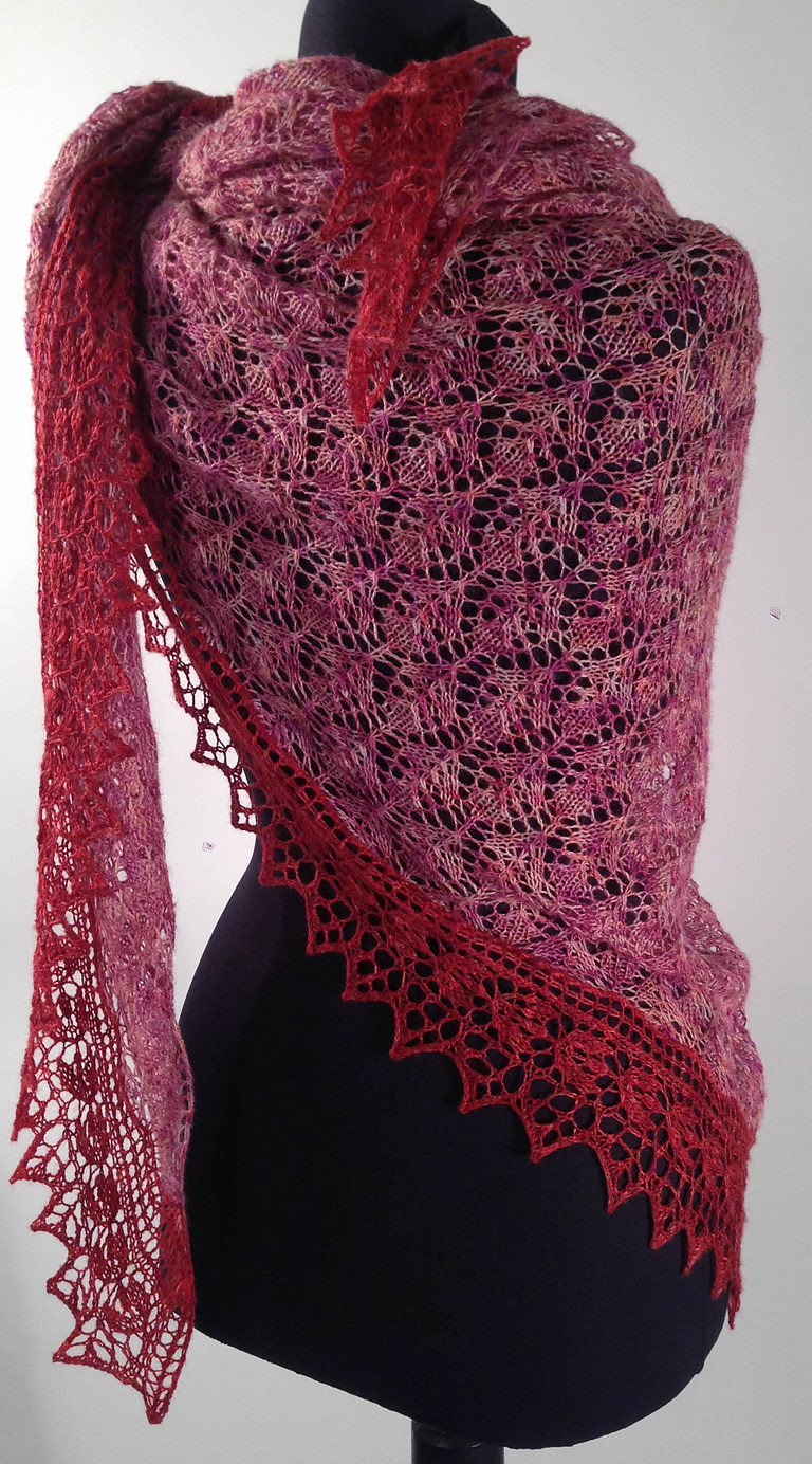 Awesome Lace Shawl and Wrap Knitting Patterns Knitted Wrap Pattern Of Adorable 40 Photos Knitted Wrap Pattern