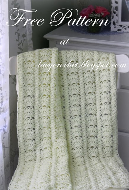 Awesome Lacy Crochet Fancy Shells Baby Afghan Free Pattern Crochet Shell Baby Blanket Of Lovely 50 Ideas Crochet Shell Baby Blanket