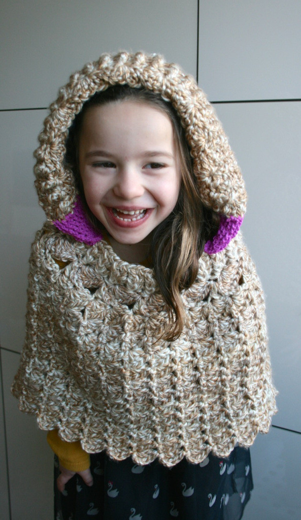 Awesome Lacy Hooded Poncho Crochet Pattern Luz Patterns Crochet Poncho with Hood Of Fresh 40 Pictures Crochet Poncho with Hood