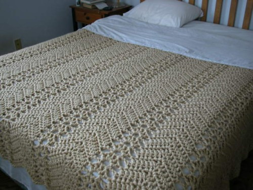 Awesome Lacy Ripple – Grandma S Crochet Art Free Crochet Bedspread Patterns Of Unique 48 Photos Free Crochet Bedspread Patterns