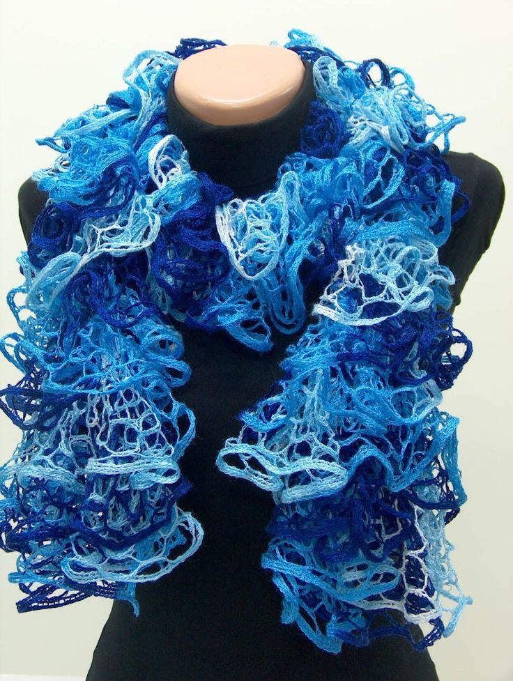 Awesome Lacy Ruffle Knit Scarf I Crocheted with Same Yarn Ruffle Scarf Yarn Of Beautiful 47 Images Ruffle Scarf Yarn