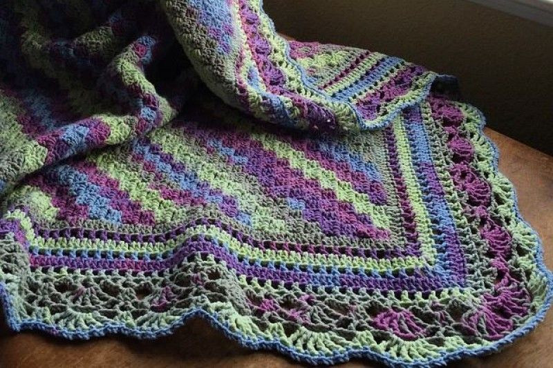 Awesome Last Friday I Posted This Picture Of My Corner to Corner Crochet Crowd Baby Blanket Of Brilliant 40 Photos Crochet Crowd Baby Blanket
