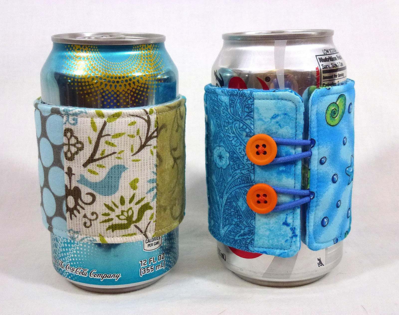 Awesome Leslie S Art and Sew Summer Sewing soda Can Cozy Tutorial Can Cozy Of Wonderful 48 Pictures Can Cozy