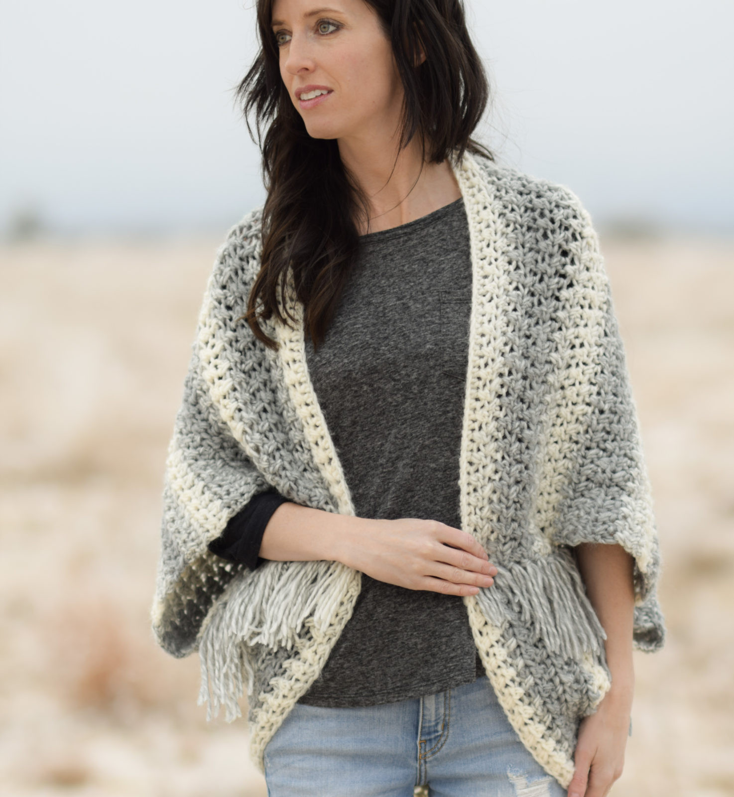 Awesome Light Frost Easy Blanket Sweater Crochet Pattern – Mama In Lion Brand Scarfie Of Lovely 48 Photos Lion Brand Scarfie