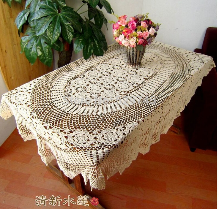 Awesome Line Buy wholesale Oval Tablecloth From China Oval Crochet Lace Tablecloths Of Luxury 47 Images Crochet Lace Tablecloths