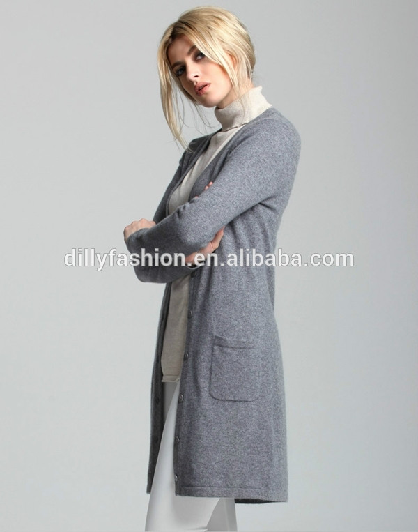 Long Sweater Coat Knitting Pattern