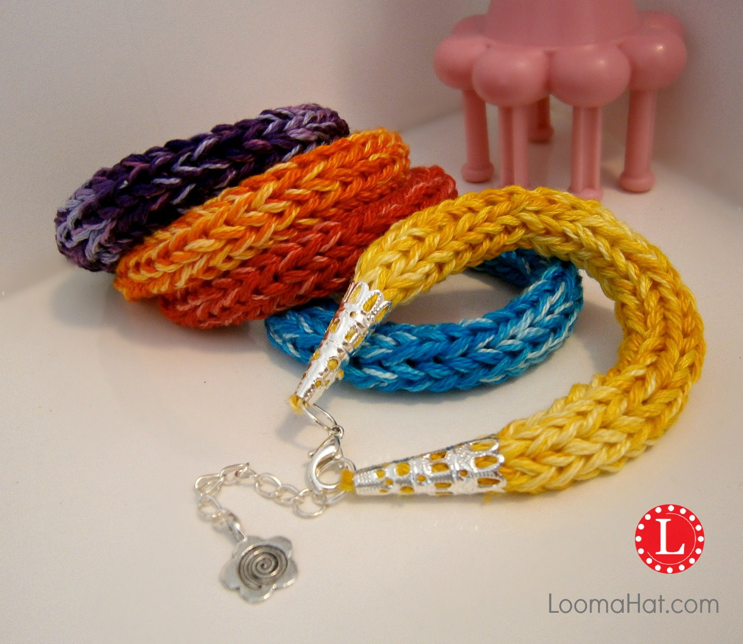 Awesome Loom Knit Pattern Friendship Bracelet Knitted Bracelet Of Brilliant 50 Models Knitted Bracelet