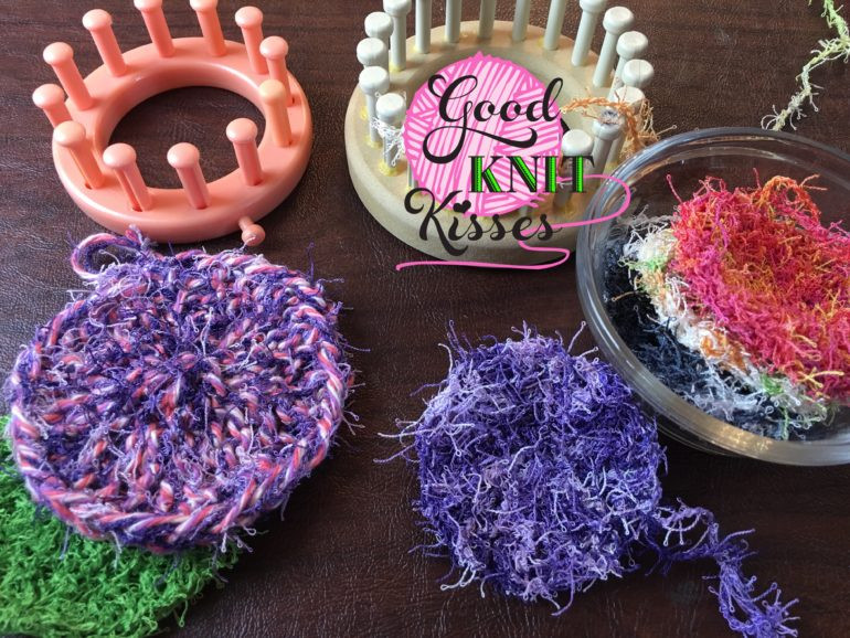 Awesome Loom Knit Scrubby Stack Scrubbies In A Mason Jar Circle Loom Knitting Of Superb 50 Images Circle Loom Knitting