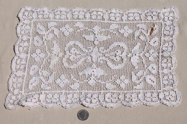 Awesome Lot Vintage Crochet Lace Doilies Table Mats & Square Crochet Table Mat Of Gorgeous 47 Ideas Crochet Table Mat