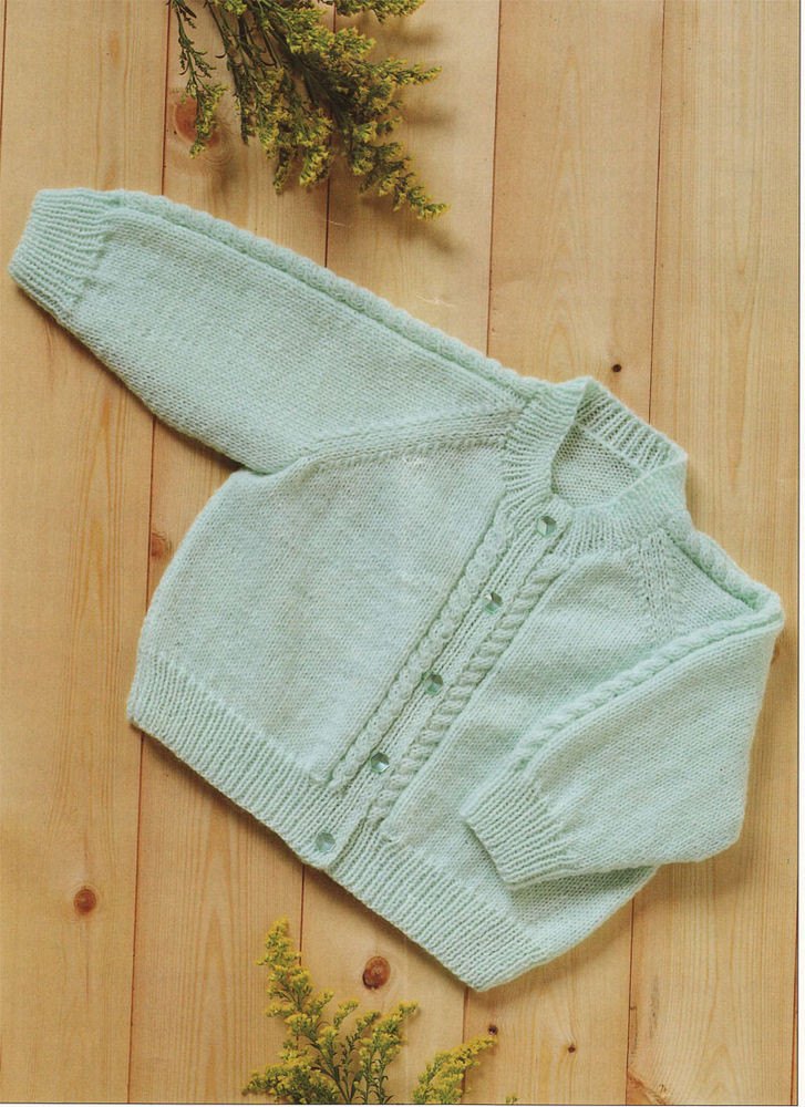 Awesome Lovely Easy Knit 4 Ply Baby Cardigan Knitting Pattern Easy Baby Sweater Knitting Pattern Of Lovely Baby Knitting Patterns Free Knitting Pattern for Easy Easy Baby Sweater Knitting Pattern