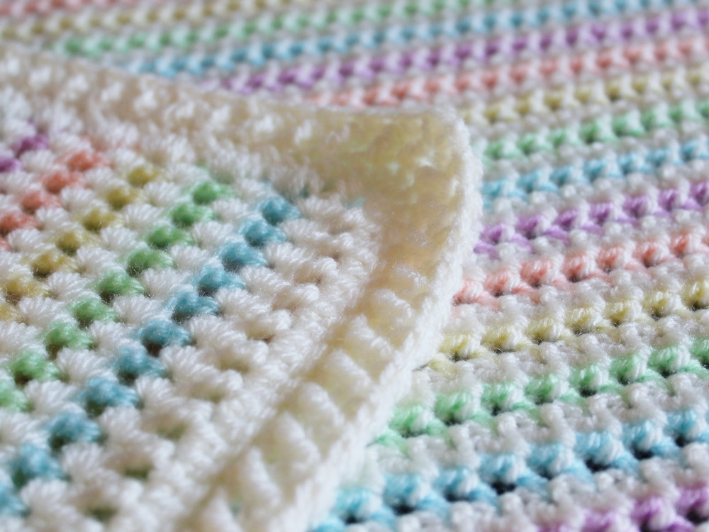 Made in K town Starlight Baby Blanket Pattern