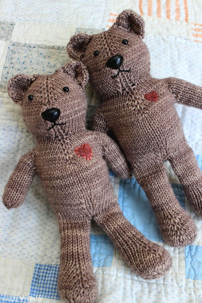 Awesome Magic Loop Teddy Simply Notable Teddy Bear Knitting Pattern Of Perfect 48 Ideas Teddy Bear Knitting Pattern