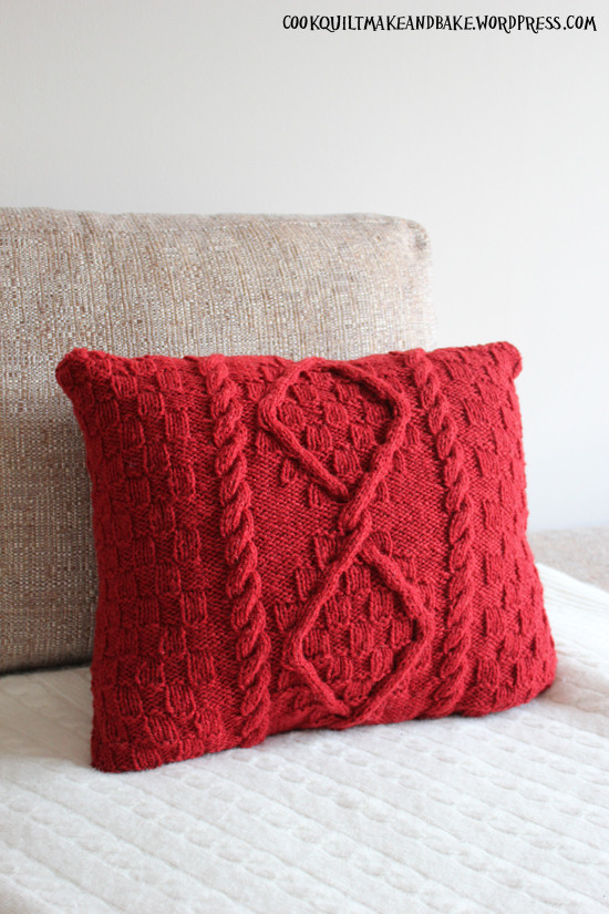 Awesome Make Cable Knit Cushion Cover for Project Woolsack Cable Knit Pillow Cover Of Top 41 Pictures Cable Knit Pillow Cover