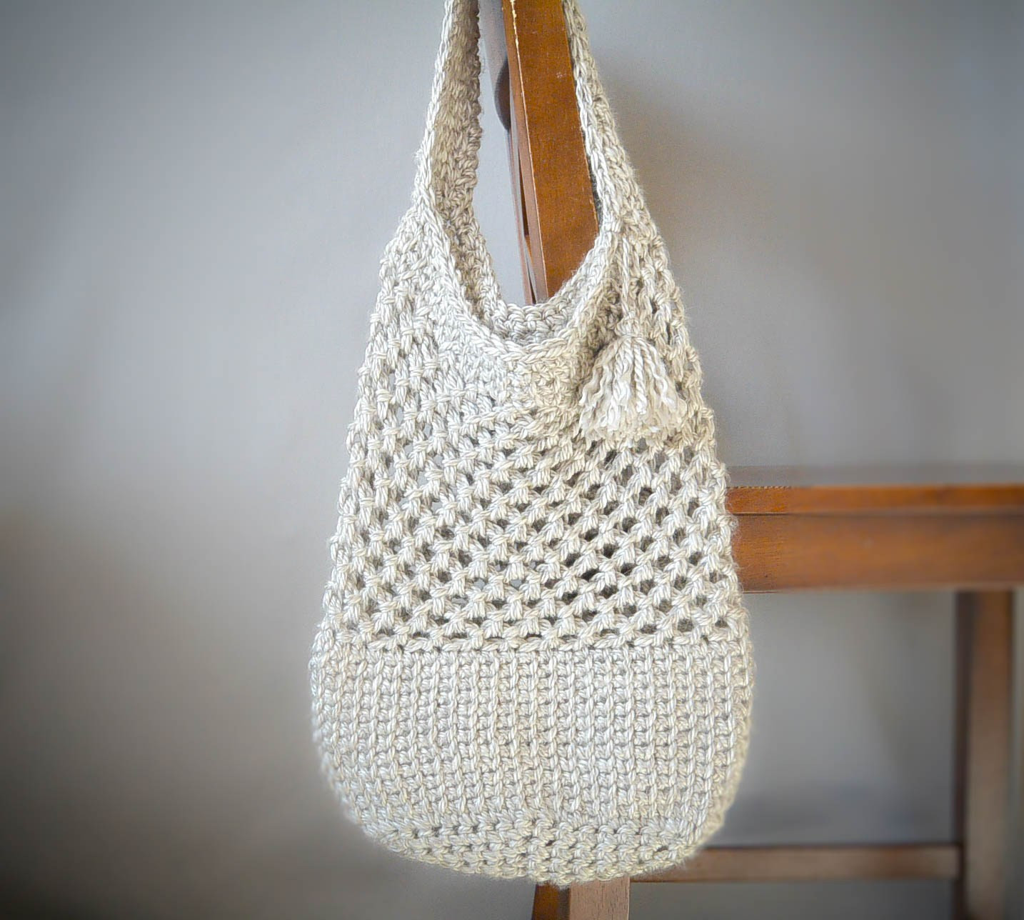 Awesome Manhattan Market tote – Crochet Pattern Crochet tote Of Adorable 41 Images Crochet tote