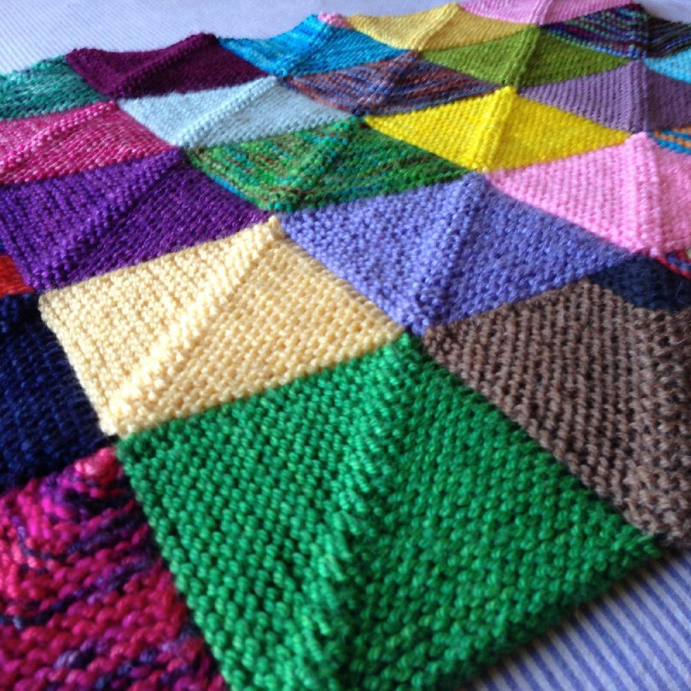 Awesome Memory Blanket Knitting Pattern by Georgie Hallam Tikki Knitted Blanket Squares Of Unique 45 Photos Knitted Blanket Squares