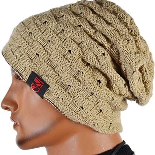 Awesome Men Reversible Slouchy Beanie Hat Uni Skull Hat Mens Slouchy Beanie Hats Of Amazing 47 Models Mens Slouchy Beanie Hats