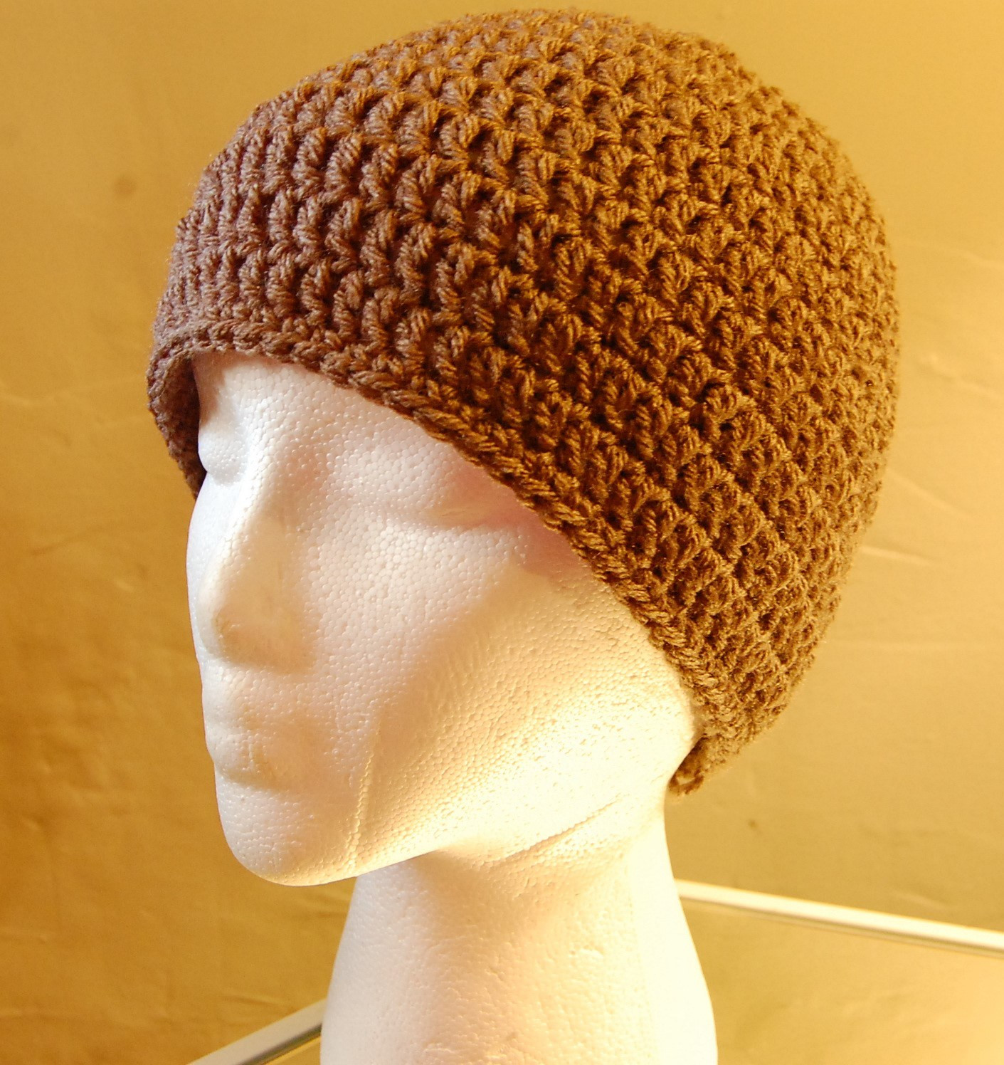 Men s Crochet Hat Pattern
