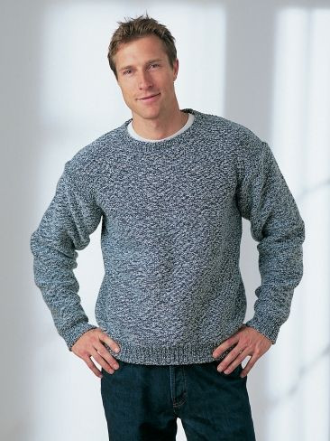Men s Dropshoulder Sweater Yarn