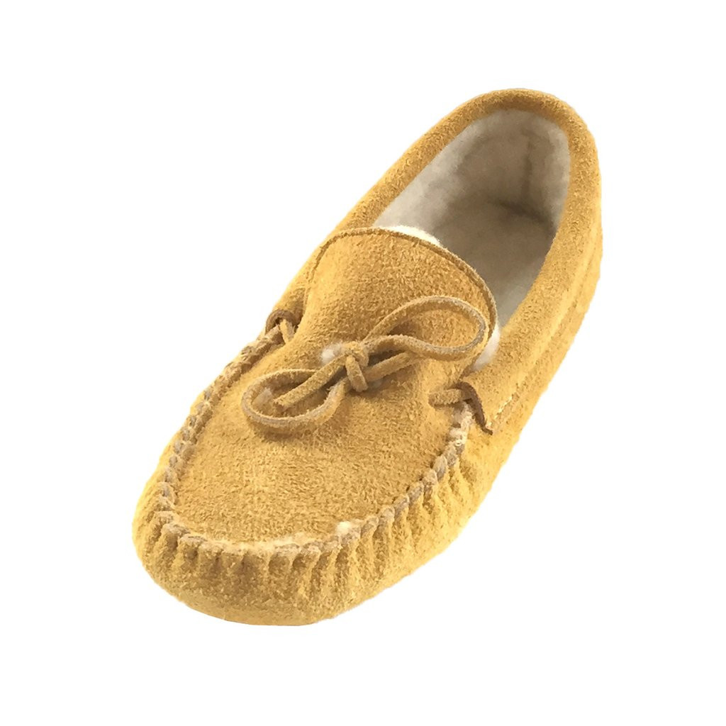 Awesome Men S soft sole Genuine Moosehide Suede Fleece Lined Leather sole Slippers Of Fresh 46 Models Leather sole Slippers